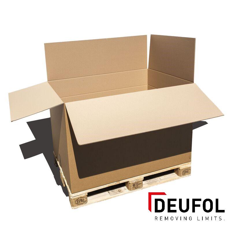 Kartonnen doos in  driewandig