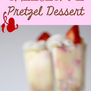 Easy Strawberry Pretzel Dessert.