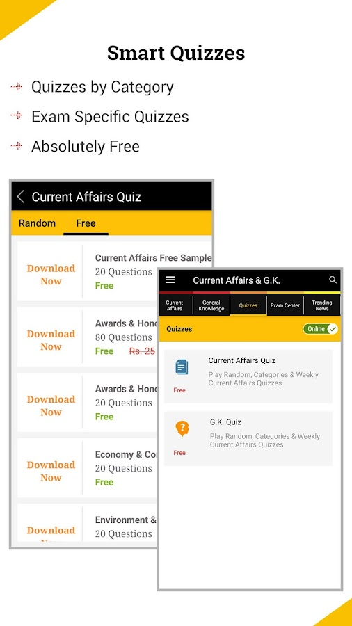 Current Affairs 2012 App For Android - I Love Free Software