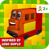 Happy Train Puzzle Lego Duplo