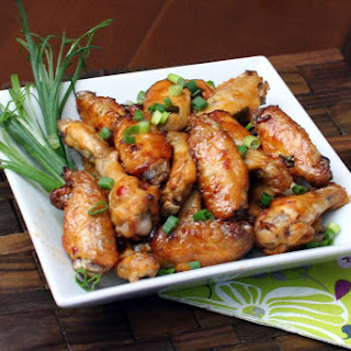 Spicy Cajun Style Chicken Wings.