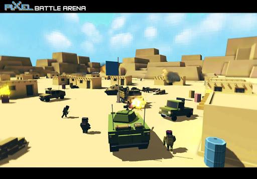 玩免費動作APP|下載Pixel Battle Arena Multiplayer app不用錢|硬是要APP