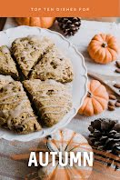 Top Ten Dishes for Autumn - Pinterest Pin item
