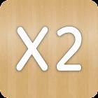 X2. 2048 Puzzle icon