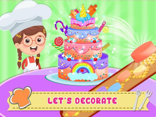 Unicorn Cake Donut Maker Baking Kitchen screenshot 7