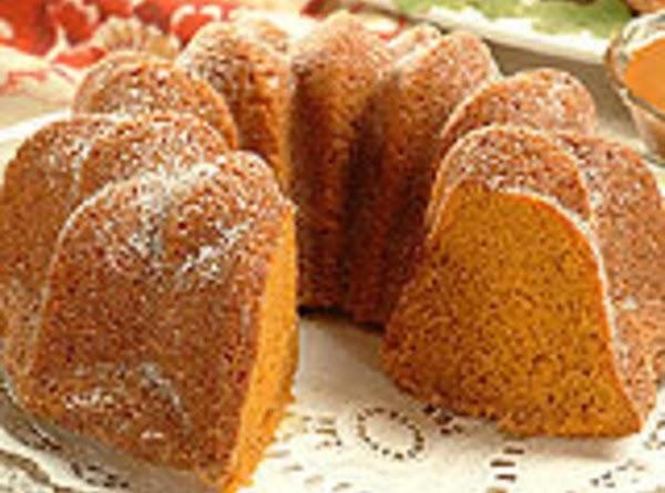 Butterscotch Pumpkin Cake Recipe
