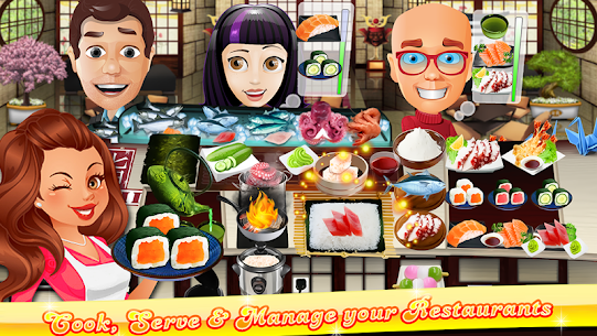 The Cooking Game- Master Chef Kitchen for Girls 5