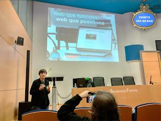 Éxito diseño web Evento SEO Bilbao
