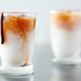 Iced Coconut Mocha Macchiato