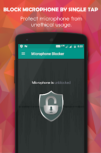 Microphone Blocker Screenshot