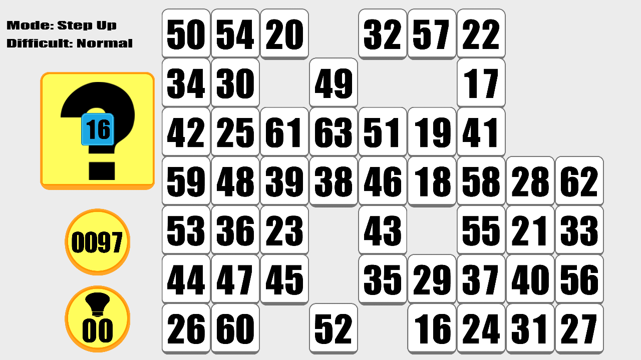 Find Sixty Three Numbers- screenshot