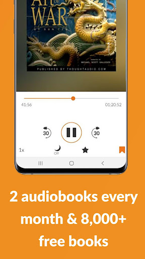 Audiobooks.com screenshot 3