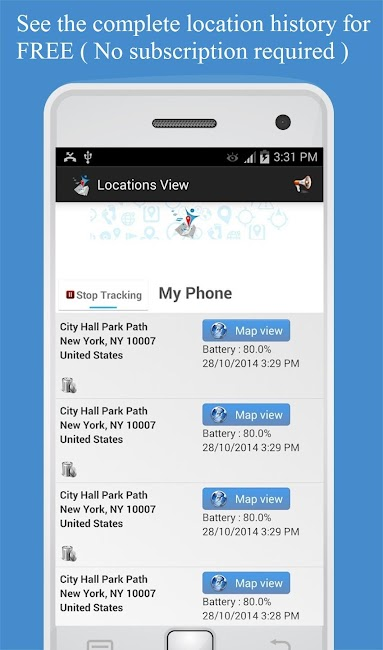 #2. Friend Locator : Phone Tracker (Android)