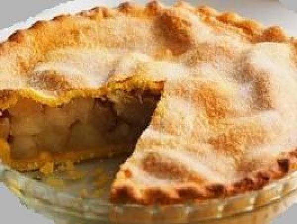 Butterscotch Deep Dish Apple Pie Recipe