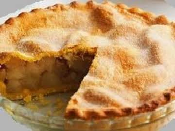 Butterscotch Deep Dish Apple Pie