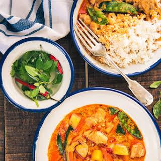 Thai Mango and Chicken Curry.