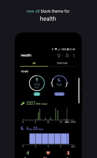 Swift Black Substratum Theme +Oreo & Samsung theme Apk [Full