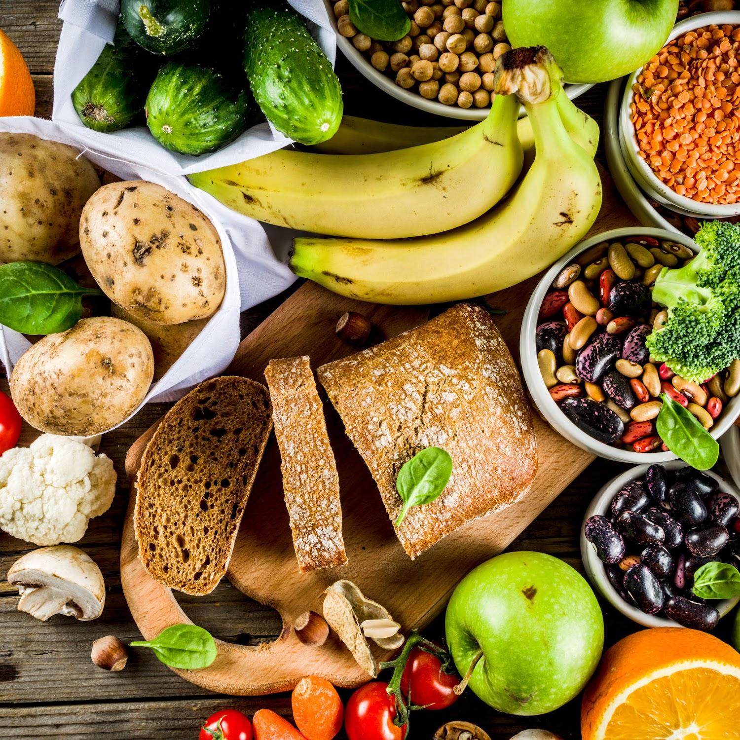 foods of vegan diet
