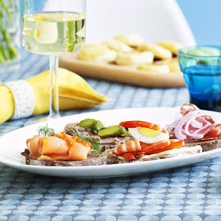 Danish Smørrebrød Platter.