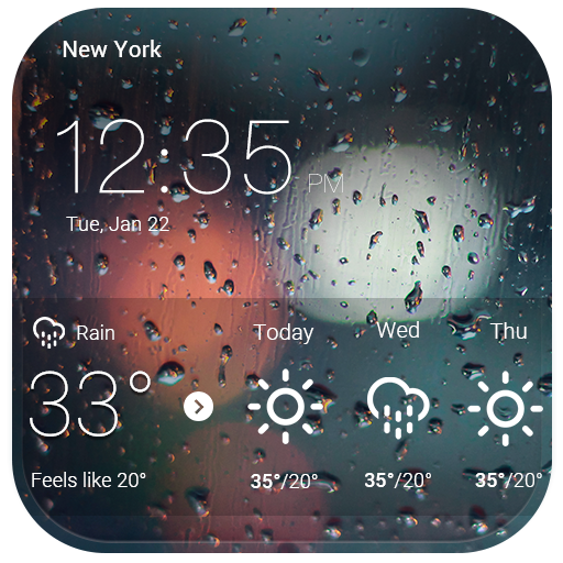Locker with real-time weather file APK for Gaming PC/PS3/PS4 Smart TV