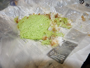 Photo: Georgetown, Penang - green vermicelli with brown sugar and coconut