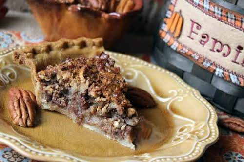 """Chocked Full of Pecan Pie""""This is a recipe I adapted from several..."""
