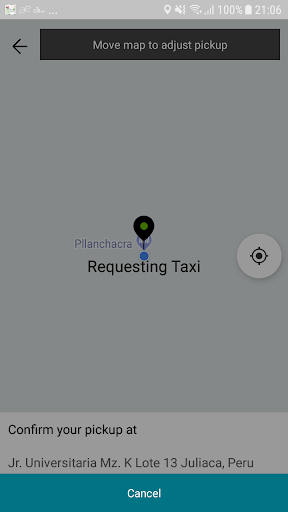 CIR APP de Taxi screenshot 2