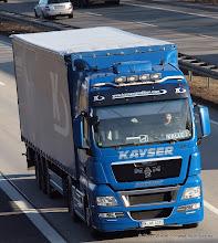 Photo: KAYSER TGX EEV  :-)    -----> just take a look and enjoy www.truck-pics.eu