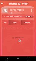 Screenshot of Friends for Viber