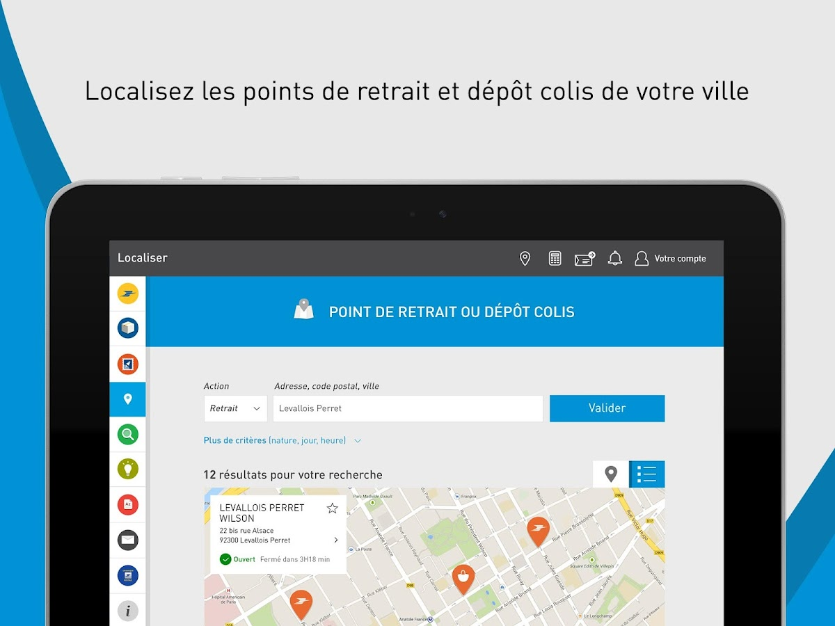 La poste hd services postaux applications android sur for La poste reexpedition definitive
