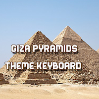 Giza Pyramids Theme Keyboard