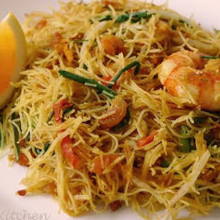 Siamese Fried Noodle (Mee Siam).