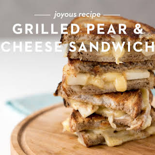 Grilled Pear and Cheese Sandwich.
