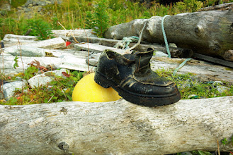 Photo: Shoes, another often found item.