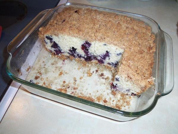 Blueberry Buckle Coffee Cake Recipe