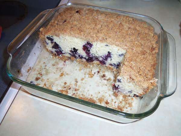 Blueberry Buckle Coffee Cake Recipe