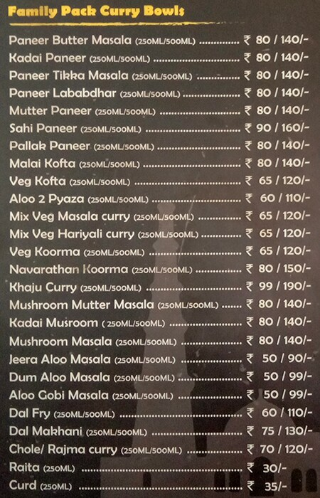 Roti Curry menu 7