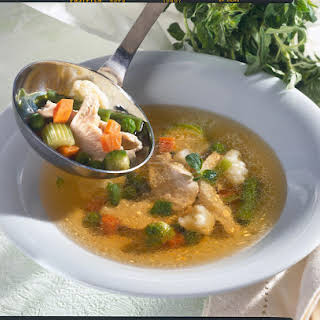 Vegetable Soup with Chicken.
