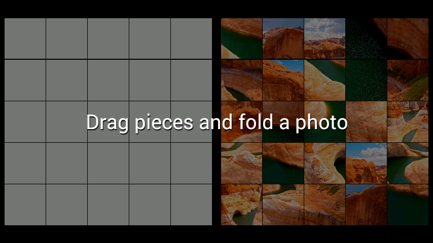 android Fluss LWP + Puzzle Screenshot 1