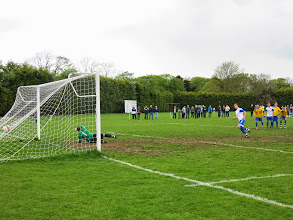 Photo: 26/04/14 v Wootton Blue Cross (Bedfordshire County League Premier Division) 1-1 - contributed by Leon Gladwell