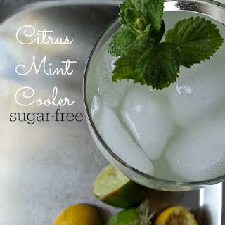 Sugar Free Citrus Mint Cooler.