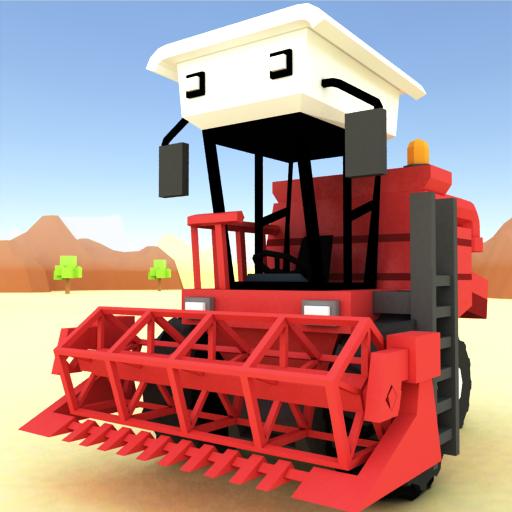 Blocky Farm Racing & Simulator - fazenda