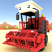 Blocky Farm Racing & Simulator – free driving game MOD APK 1.31 (Free Shopping)