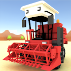 Blocky Farm Racing & Simulator icon