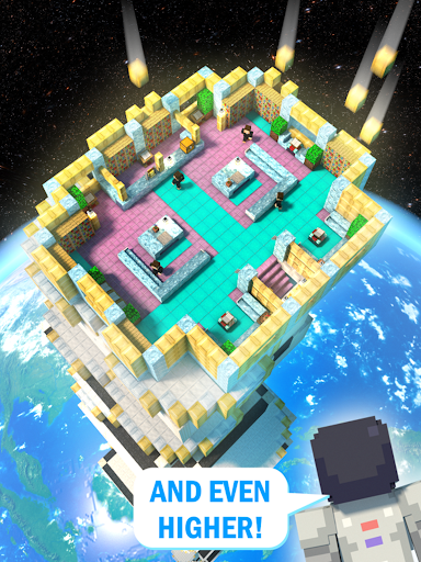 Tower Craft 3D - Idle Block Building Game modavailable screenshots 8