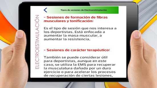 Electroestimulación EMS - náhled