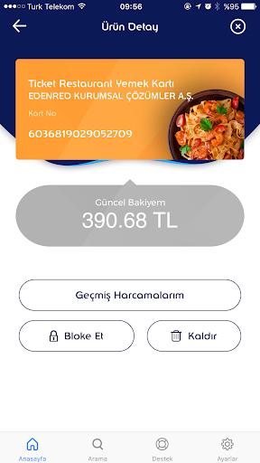 MyEdenred Türkiye screenshot 3