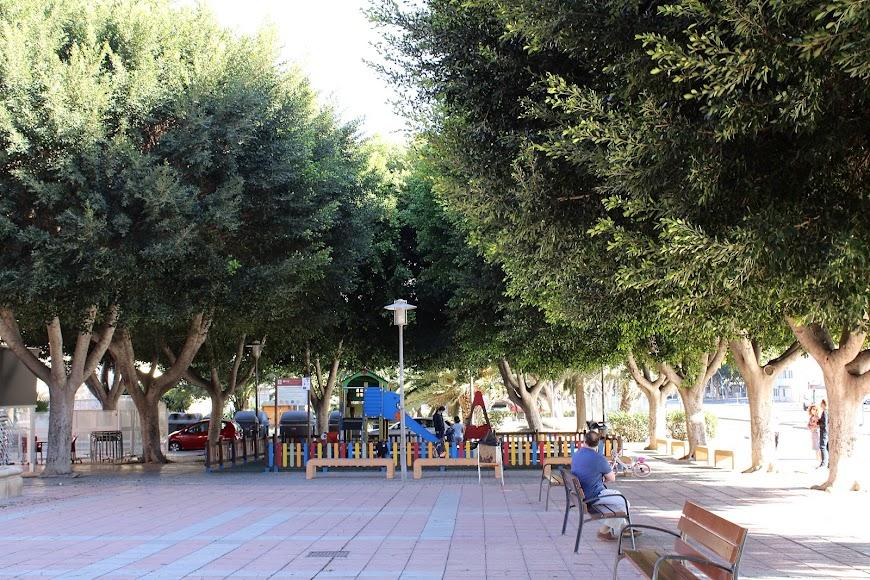 Parque Infantil de la Plaza Ramón y Cajal.