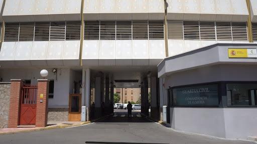 Comandancia de la Guardia Civil en Almería.