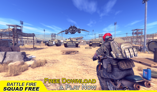 Battle Fire Squad Free Survival: Battleground Game android2mod screenshots 13